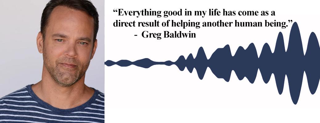 Comedian Greg Baldwin